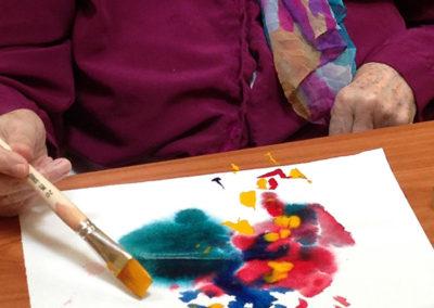 Malen im Haus Hasch