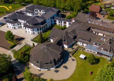 Haus Hasch Luftaufnahme